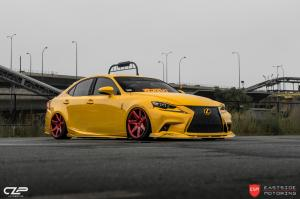 2017 Lexus IS by Eastside Motoring on Vossen Wheels (CG-207)